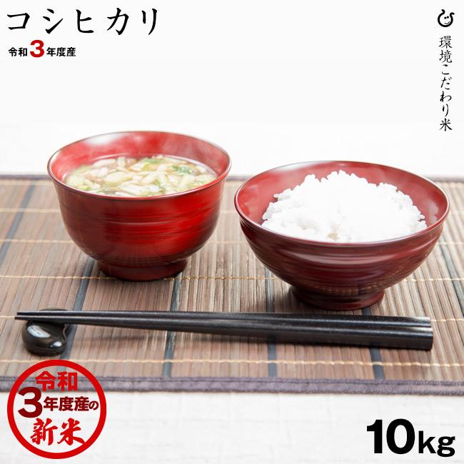 送料無料 新米 オリジナル 優先配送 コシヒカリ 令和3年:滋賀県産 10kg あす楽対応