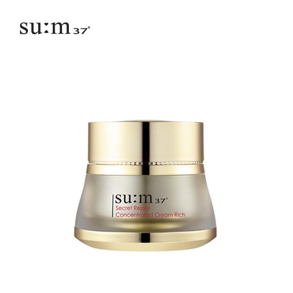 su:m37°(スム37°)☆シークレット リペア コンセントレイティッド クリーム リッチ(Secret Repair Concentrated Cream Rich)50ml 宅配便送料無料商品(一部地域別途送料) 韓国コスメ 高級韓国コスメ 天然発酵化粧品