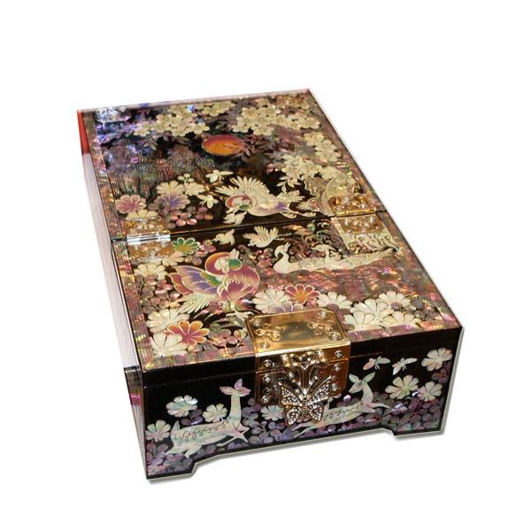 『全国送料無料!』韓国の伝統を伝えるアンティーク漆器化粧箱