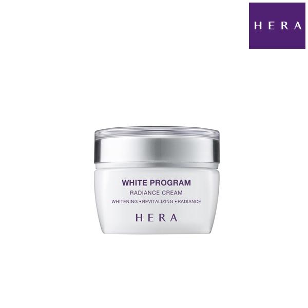 HERA ヘラ ホワイトプログラムラディエンスクリーム WHITE PROGRAM RADIANCE CREAM 50ml 韓国コスメ