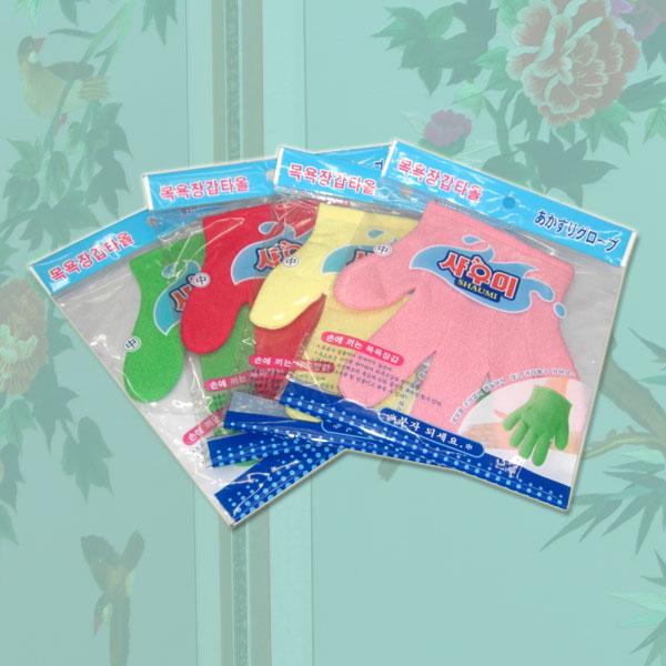 韓国 あかすり タオル C 1枚 手袋型 韓国直輸入 定形外郵便