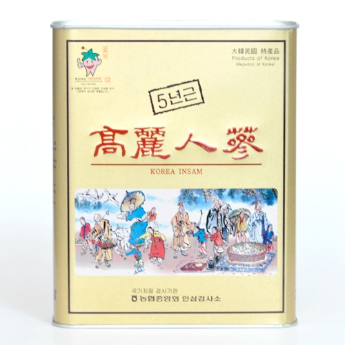 『☆★送料無料★☆』韓国伝統品!元気の源!最高級「高麗人参」朝鮮人参(5年根)15本入り