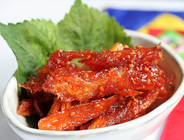 500g 韓国珍味 甘辛ミョンテ 韓国食材 干しタラの甘辛 驚きの値段 今ダケ送料無料