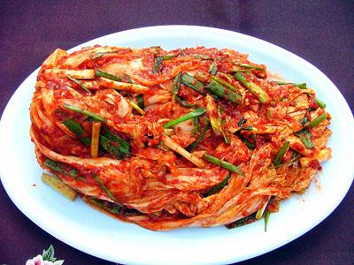 马上在特价里!手工制作的白菜朝鲜辣白菜