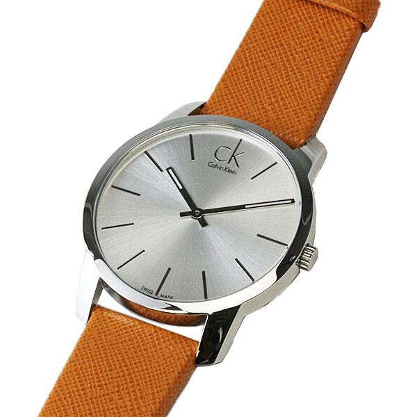 正規品 カルバンクライン腕時計 K2G21138シティ(ジェント/メンズ) 銀文字盤 ck cityメーカー2年保証 Calvin Klein