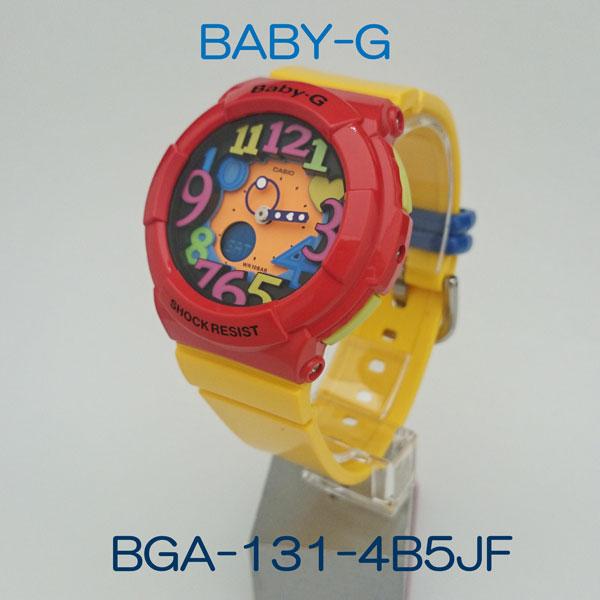 カシオ腕時計 BGA-131-4B5JFCrazy Neon Series(クレージーネオンシリーズ)メーカー1年保証 正規品 CASIO Baby-G