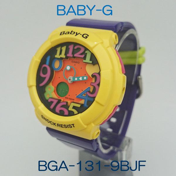 カシオ腕時計 BGA-131-9BJFCrazy Neon Series(クレージーネオンシリーズ)メーカー1年保証 正規品 CASIO Baby-G
