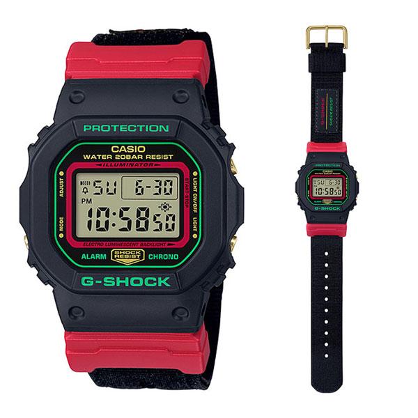 カシオ腕時計[正規品]/G-SHOCKDW-5600THC-1JF「Throwback 1990s」メーカー1年保証 正規品 CASIO