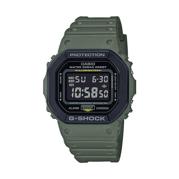 カシオ腕時計・G-SHOCK/DW-5610SU-3JFUtility Color/カーキ(グリーン)メーカー1年保証/正規品/CASIO