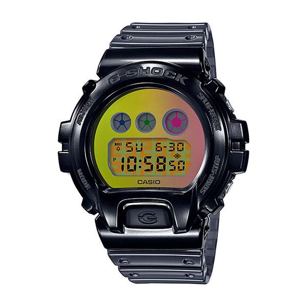カシオ腕時計・G-SHOCK/DW-6900SP-1JRDW-6900生誕25周年記念のスペシャルモデル/ブラックシースルーメーカー1年保証/正規品/CASIO