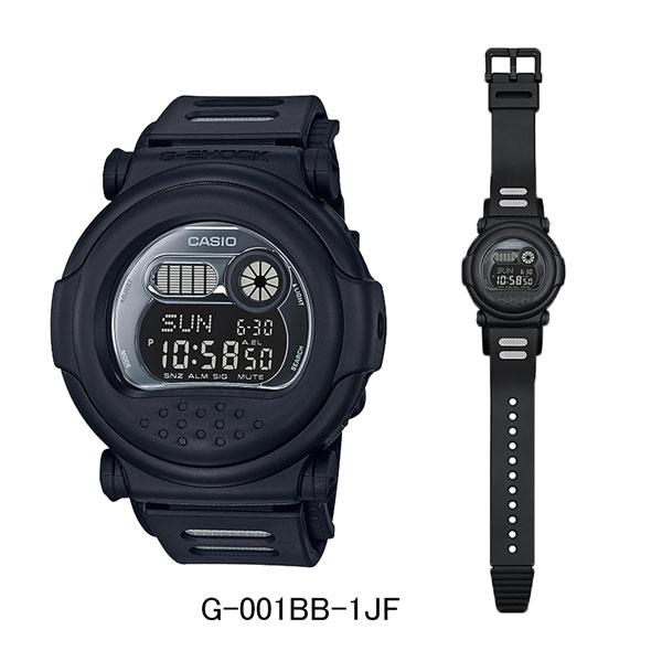 カシオ腕時計/G-SHOCK G-001BB-1JFオールブラックモデルメーカー1年保証 正規品 CASIO