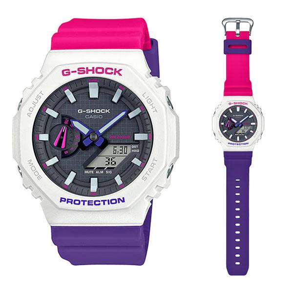 カシオ腕時計[正規品]/G-SHOCKGA-2100THB-7AJF・「Throwback 1990s」メーカー1年保証 正規品 CASIO