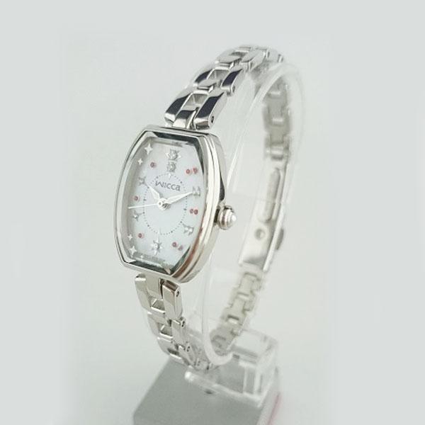 シチズン腕時計 ウィッカ(Wicca) KF3-010-93SSレディス・ソーラーテックメーカー1年保証 正規品 CITIZEN