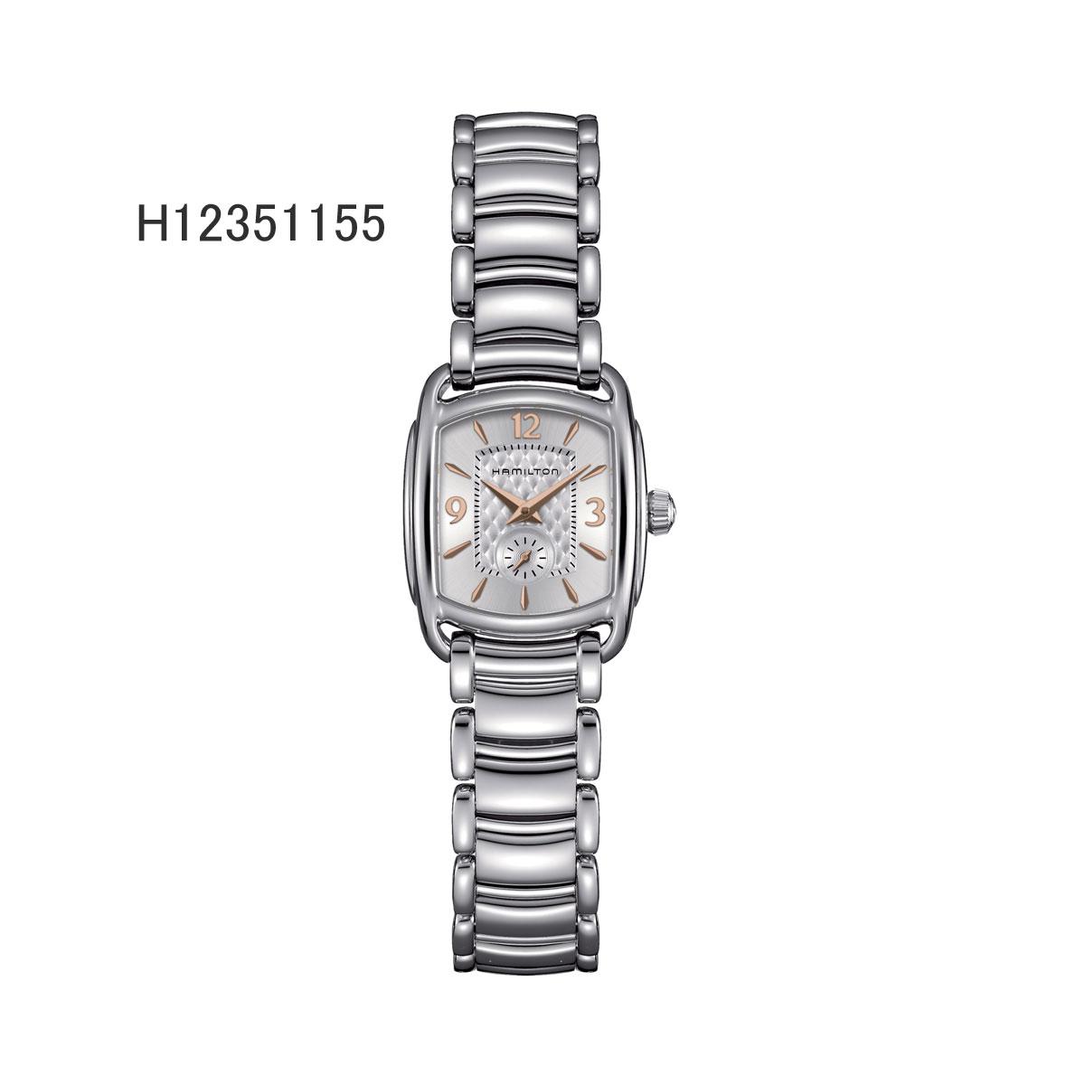ハミルトン腕時計 H12351155/バガリー(レディス)銀色文字盤/ブレスレット2年保証HAMILTON BAGLEY【送料無料】【プレゼント対象】