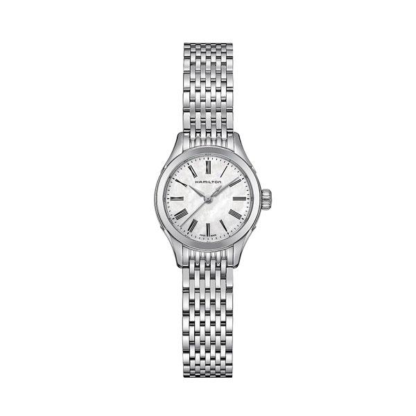 ハミルトン腕時計/H39251194/バリアント(レディス)/白色MOP文字盤・ブレスレット2年保証HAMILTON Valiant Ladies【送料無料】【プレゼント対象】