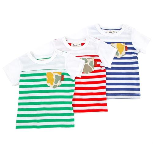 Bobson半袖Tシャツ(80〜130cm)