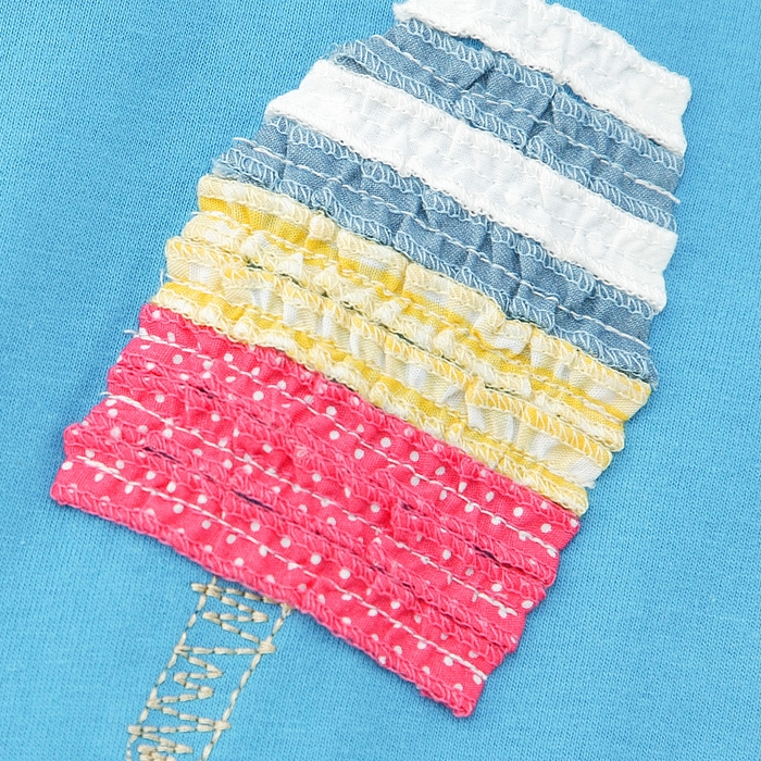 Biquette(ビケット)半袖Tシャツ(80〜130cm)女の子初夏物809095100110120130キムラタンの子供服