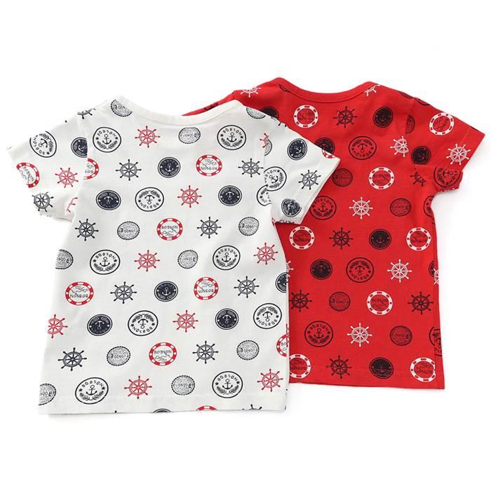 Bobson(ボブソン)半袖Tシャツ(80〜130cm)男の子夏物80cm90cm95cm100cm110cm120cm130cmキムラタンの子供服