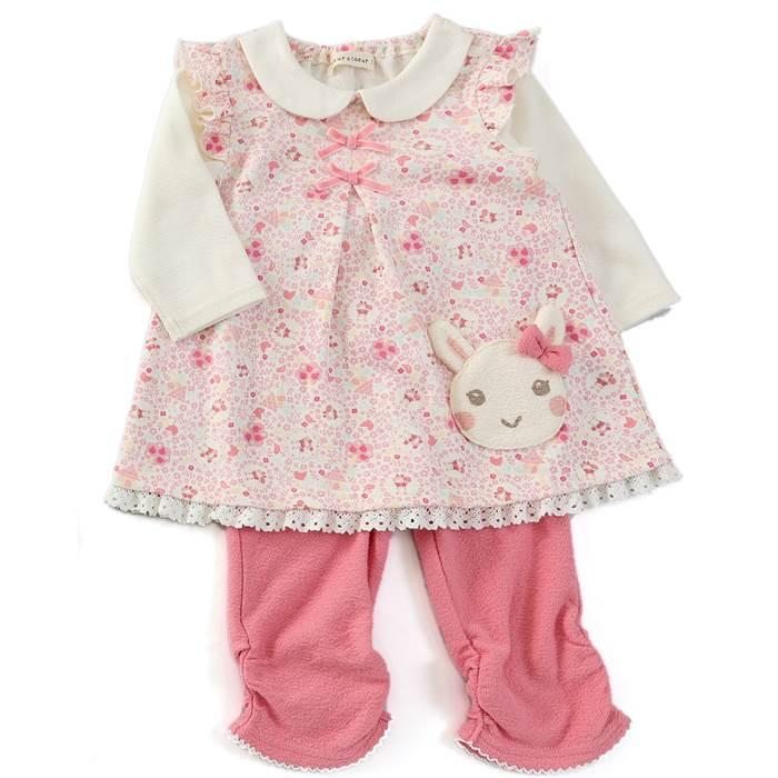 d6b8c8651cbb4 coeuracoeur(クーラクール)チュニックスーツ(70~80cm)女の子秋物70cm80cmキムラタン