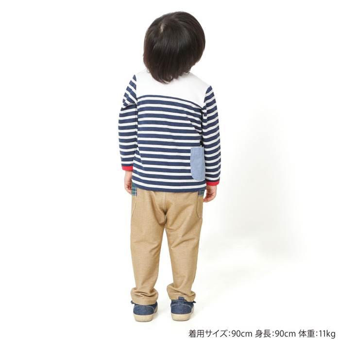 LaChiave(ラキエーベ)長袖Tシャツ(80〜130cm)男の子春物80cm90cm95cm100cm110cm120cm130cmキムラタンの子供服