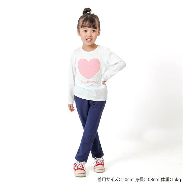 2e3477ea46e17 Bobson(ボブソン)長袖Tシャツ(80~130cm)女の子春物80cm90cm95cm100cm110cm120cm130cmキムラタン