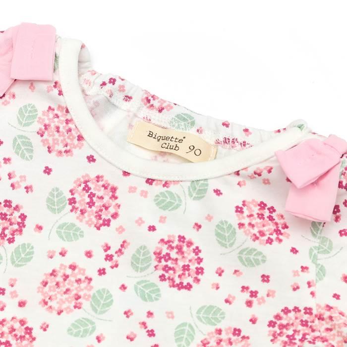 BiquetteClub(ビケットクラブ)半袖Tシャツ(80〜130cm)女の子初夏物80cm90cm95cm100cm110cm120cm130cmキムラタンの子供服