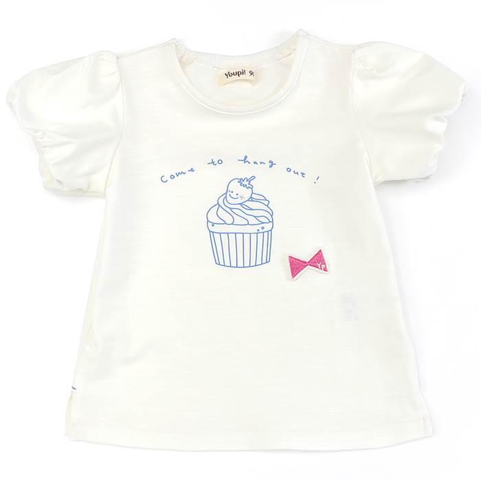 Youpi!(ユッピー)Tシャツ(半袖)(80〜130cm)女の子初夏物80cm90cm95cm100cm110cm120cm130cmキムラタンの子供服