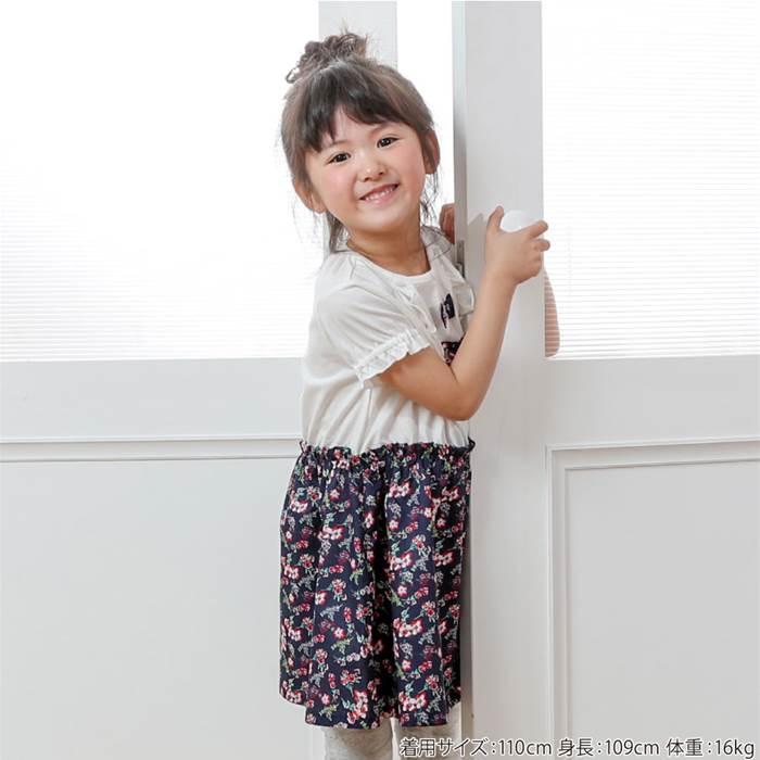Biquette(ビケット)ワンピース(80〜130cm)女の子初夏物80cm90cm95cm100cm110cm120cm130cmキムラタン子供服あす楽