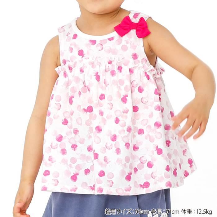 BiquetteClub(ビケットクラブ)タンクトップ(80〜130cm)女の子夏物80cm90cm95cm100cm110cm120cm130cmキムラタン子供服あす楽