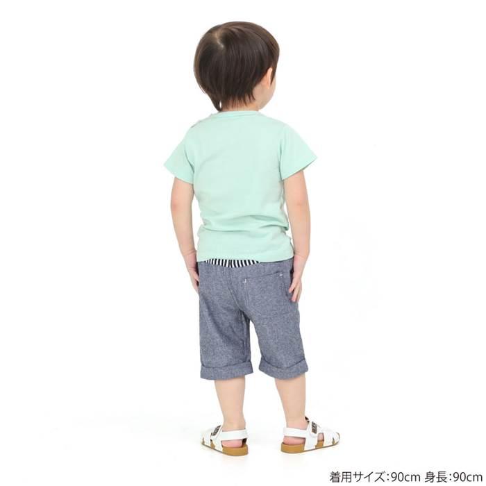 LaChiave(ラキエーベ)ハーフパンツ(80〜130cm)男の子夏物80cm90cm95cm100cm110cm120cm130cmキムラタン子供服あす楽