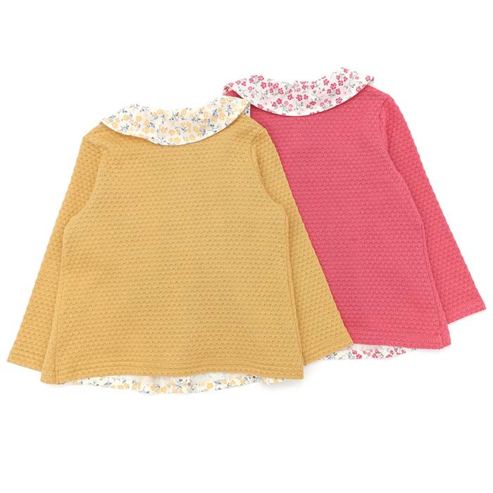 BiquetteClub(ビケットクラブ)ブラウスTシャツ(80〜130cm)女の子秋物80cm90cm95cm100cm110cm120cm130cmキムラタン子供服綿100%あす楽