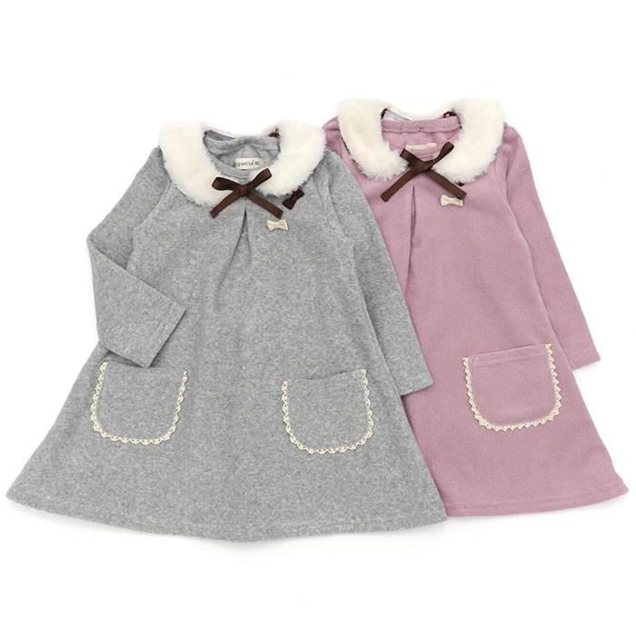 ♪子供服♪ Biquette (ビケット ) ワンピース (80~130cm) 女の子 80cm 90cm 95cm 100cm 110cm 120cm 130cm キムラタン 子供服