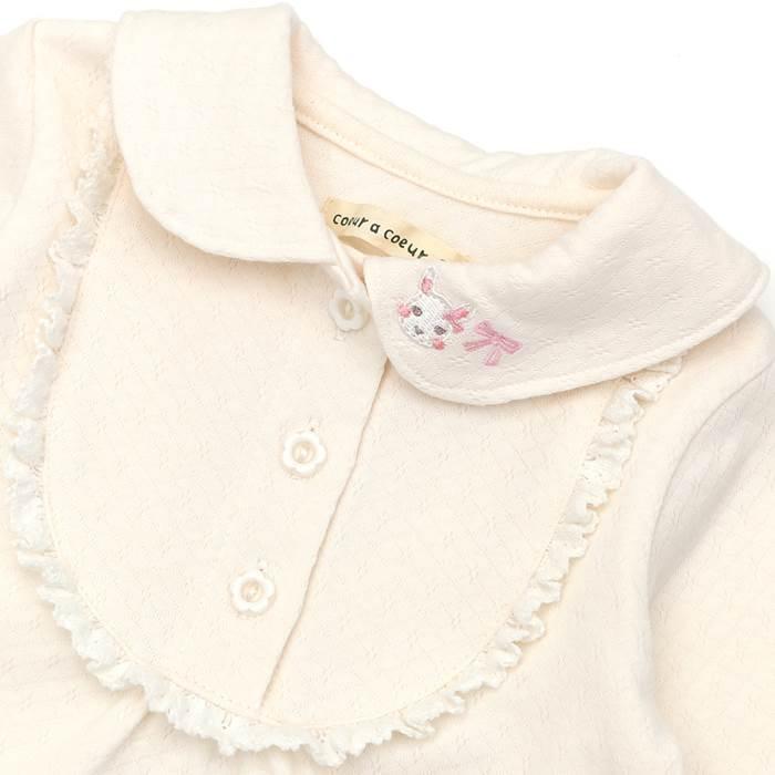 coeuracoeur(クーラクール)ブラウスTシャツ(70〜100cm)女の子秋物70cm80cm90cm95cm100cmキムラタン子供服あす楽