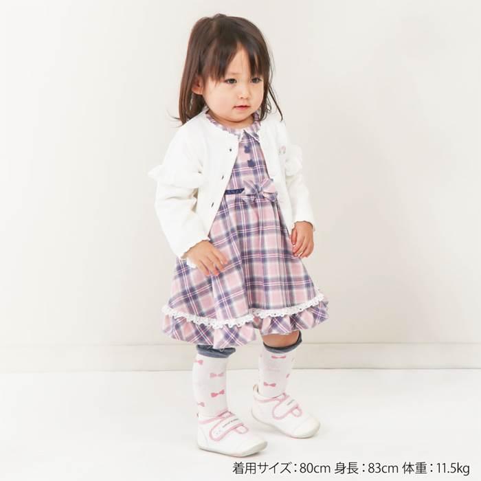 coeuracoeur(クーラクール)カーディガン(70〜100cm)女の子秋物70cm80cm90cm95cm100cmキムラタン子供服あす楽