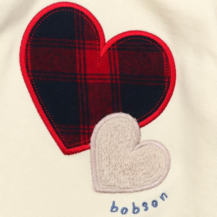 Bobson(ボブソン)トレーナー(80〜130cm)女の子秋物80cm90cm95cm100cm110cm120cm130cmキムラタン子供服本体綿100%あす楽