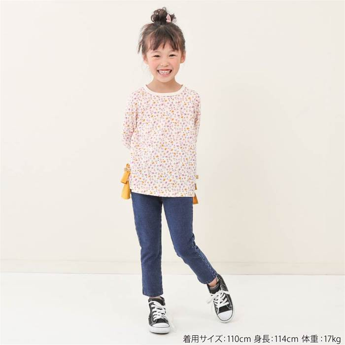 Bobson(ボブソン)ロングパンツ(80〜130cm)女の子秋物80cm90cm95cm100cm110cm120cm130cmキムラタン子供服あす楽