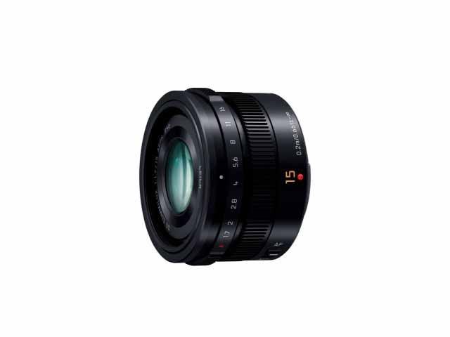 【納期約2週間】【お一人様1台限り】3H-X015-K 【代引き不可】【送料無料】 [Panasonic パナソニック] デジタル一眼カメラ用交換レンズ H-X015K ブラック