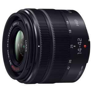 【お一人様1台限り】【在庫有り翌営業日発送OK A-8】H-FS1442A-KA【送料無料】[Panasonic パナソニック] 交換用レンズ LUMIX G VARIO 14-42mm F3.5-5.6II ASPH. MEGA O.I.S. ブラック
