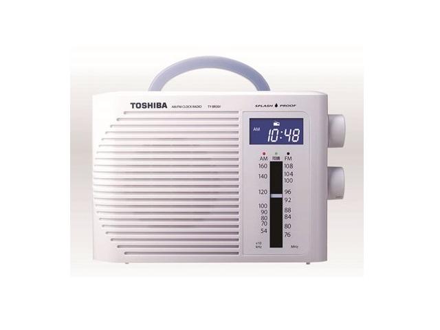 <title>納期約2週間 TY-BR30F マーケティング W TOSHIBA 東芝 防水型クロックラジオ CUTEBEAT キュートビート ホワイト TYBR30FW</title>