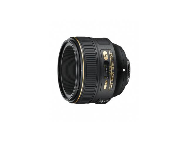 【納期約3週間】【お一人様1台限り】AF-S NIKKOR 58mm f/1.4G [Nikon ニコン] AF-S NIKKOR 58mm f/1.4G AFSNIKKOR58mmf/1.4G