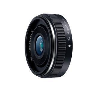 【納期約3週間】【お一人様1台限り】H-H014A-K [Panasonic パナソニック] 交換用レンズ LUMIX G 14mm F2.5 II ASPH. ブラック HH014AK