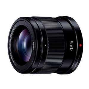 【納期約1~2週間】【お一人様1台限り】H-HS043-K [Panasonic パナソニック]交換用レンズ LUMIX G 42.5mm F1.7 ASPH. POWER O.I.S. HHS043S