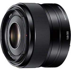 """【納期約4週間】【お一人様1台限り】SEL35F18[SONY ソニー] デジタル一眼カメラ""""α""""[Eマウント]用レンズ E 35mm F1.8 OSS"""