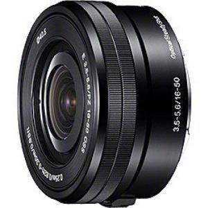 """【納期約4週間】【お一人様1台限り】SELP1650[SONY ソニー] デジタル一眼カメラ""""α""""[Eマウント]用レンズ E PZ 16-50mm F3.5-5.6 OSS"""