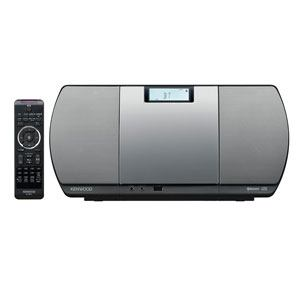 【納期約7~10日】CR-D3-S【送料無料】[KENWOOD ケンウッド] ミニコンポ USBパーソナルオーディオシステム シルバー CRD3S