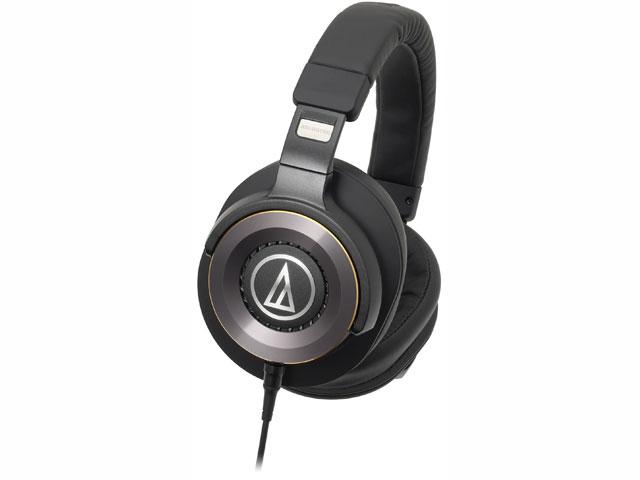 【納期約7~10日】ATH-WS1100 ブラック [audio-technica オーディオテクニカ] ポータブルヘッドホン SOLID BASS ATHWS1100