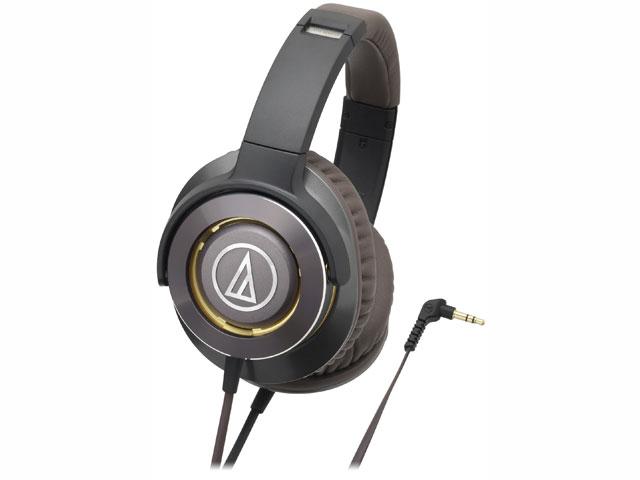 【納期約7~10日】ATH-WS770 GM ガンメタリック [audio-technica オーディオテクニカ] ポータブルヘッドホン SOLID BASS ATHWS770GM