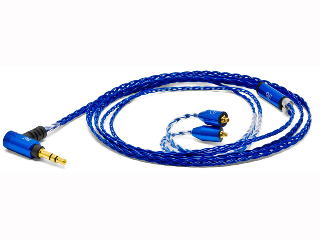 【納期約1~2週間】Palette8 MX-A SapphireBlue [oyaide オヤイデ] MMCXイヤホン用リケーブル  Palette8MXASapphireBlue ブルー