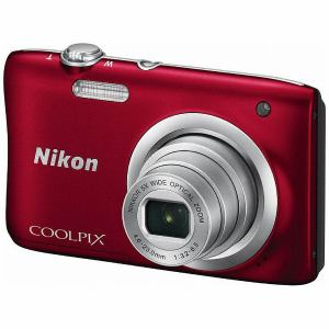 ◆【在庫あり翌営業日発送OK A-8】【お一人様1台限り】A100RD 【送料無料】Nikon ニコン デジタルカメラ 「COOLPIX(クールピクス)」 A100 レッド