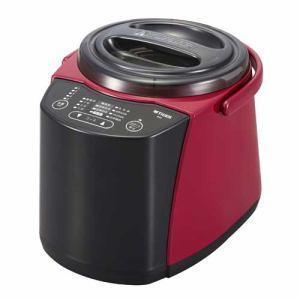 【納期約3週間】★★RSF-A100 TIGER タイガー 精米器(1~5合用) 無洗米機能つき レッド RSFA100